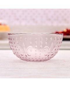 Bowl Rosa Hibisco 580ml Havan - Vidro