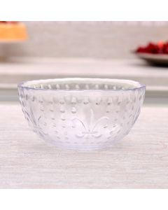 Bowl Transparente Hibisco 580ml Havan - Vidro