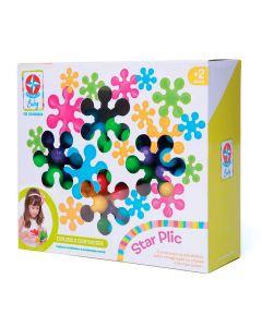 Brinquedo De Montar Star Plic Estrela - Colorido