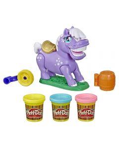 Brinquedo Play-Doh Ponei De Rodeio Hasbro - E6726
