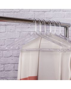 Cabide Adulto Cristal 40cm Sanremo - Transparente