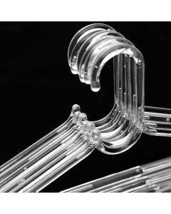Cabide Adulto Cristal - 6 peças - DIVERSOS