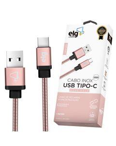 Cabo USB Tipo-C 1 Metro INXC10 ELG - Rosa