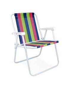 Cadeira Alta Fixa de Ferro Pintura Epóxi 2002 Mor - Sortido