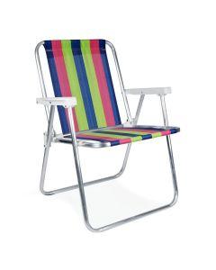 Cadeira Alta Fixa de Alumínio 2101 Mor - Sortido