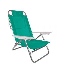 Cadeira de Alumínio Reclinável 6 Posições Summer Fashion Mor - 2563
