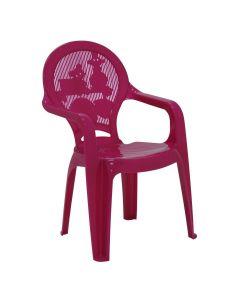 Cadeira Infantil Estampada Catty Rosa Tramontina - 92266/60
