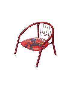 Cadeira Infantil Metal Miraculous Art Brink - Vermelho