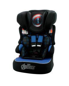 Cadeira Para Carro 9 à 36 Kg Capitão America Marvel - Azul