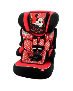 Cadeira Para Carro 9 à 36 Kg Minnie Mouse Red - Red