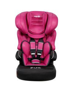 Cadeira para Carro 9 a 36Kg Beline Luxe Nania - Framboesa