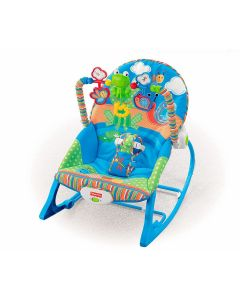 Cadeirinha Sapinho Minha Infância Fisher-Price - Azul