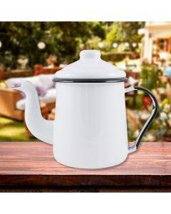 Cafeteira Tradicional Mãe Agata Ewel - Branco