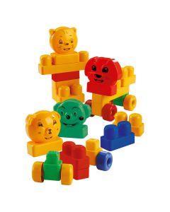 Caixa da Alegria com Blocos 28 peças Dismat - Colorido