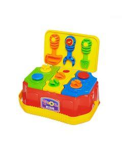 Caixa de Ferramentas Tool Kids Calesita - 885 - Vermelho