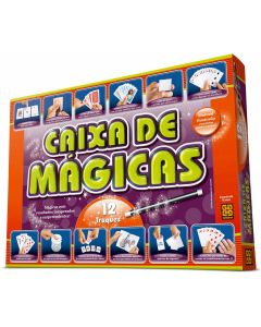 Jogo Caixa de Mágicas 12 Truques Grow - LARANJA