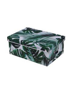 Caixa Desmontável 37x28cm Finecasa - Folhagem