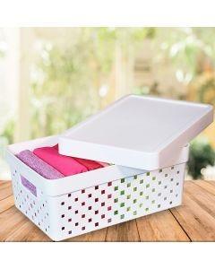 Caixa Organizadora Quadratta Paramount - Branco