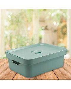 Caixa Organizadora Cube 10,5 litros Martiplast - Menta