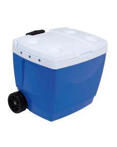 Caixa Térmica com Alça Retrátil 42 Litros Mor - Azul