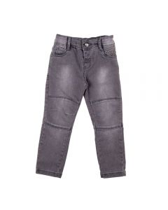 Calça de 1 a 3 Anos Jeans Black Yoyo Kids Black
