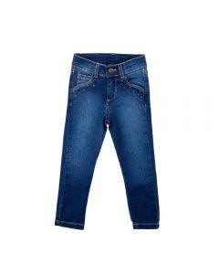 Calça Infantil Jeans com Estrelas Yoyo Kids