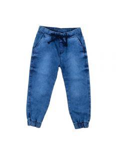 Calça de 1 a 3 Anos Jeans Yoyo Kids Azul