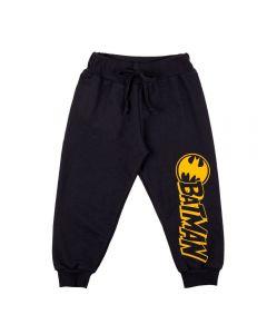 Calça de 1 a 3 Anos Moletinho Batman DC Comics Asfalto