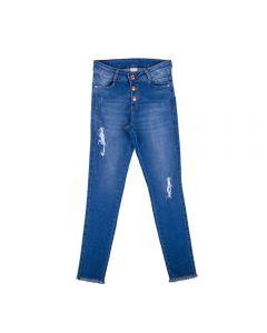 Calça de 12 a 16 Anos com Abotoamento Marmelada Jeans