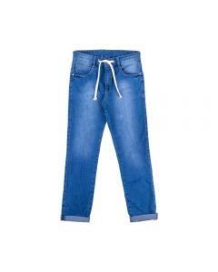 Calça de 12 a 16 Anos com Cadarço Hot Dog Jeans