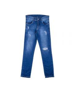 Calça de 12 a 16 Anos com Rasgos Hot Dog Jeans