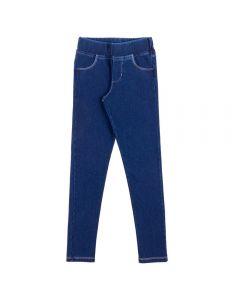 Calça de 4 a 10 Anos Jegging Lisa Marmelada Azul