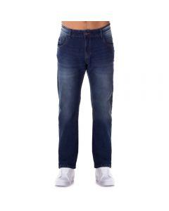 Calça Jeans com Used Leve Thing