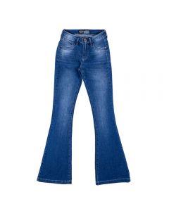 Calça Jeans Feminina Adulto Flare da Contatho