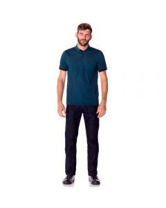 Calça Jeans Masculina Tradicional Marc Alain Azul Escuro