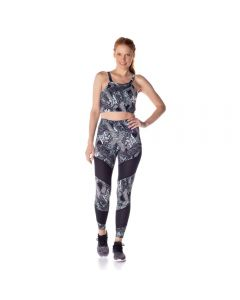Calça Legging Feminina com Tela Scream Estampado