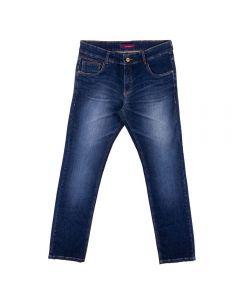 Calça Masculina Jeans Bigode Laser Thing Blue