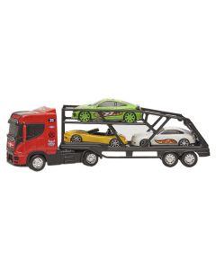 Caminhão 309 Top Truck Cegonheiro Bs Toys - Vermelho