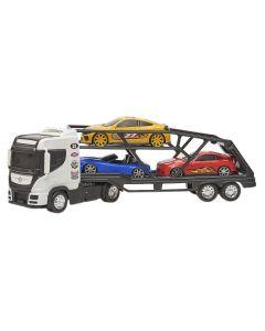 Caminhão 309 Top Truck Cegonheiro Bs Toys - Branco