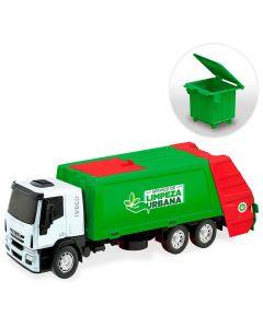 Caminhão 342 Iveco Tector Coletor Usual Plastic - Sortido