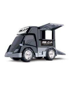 Caminhão Base Móvel Tática 119 Samba Toys - Preto