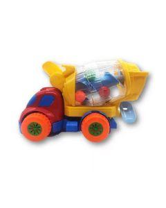 Caminhão Betoneira Diver Baby DiverToys - Amarelo