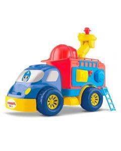 Caminhão Bombeiro Transformers  Playskool Divertoys - 8149