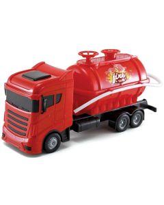 Caminhão de Bombeiros Fire Tank Orange Toys - Vermelho