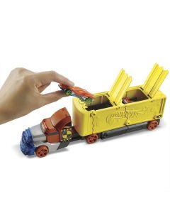 Caminhão Hot Wheels Ação De Batidas Gck39 Mattel - Colorido