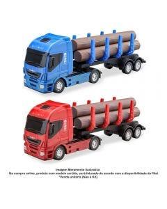 Caminhão Iveco Hi-Way Tora - Brinquedo Réplica Miniaturizada Da Usual Brinquedos - 272