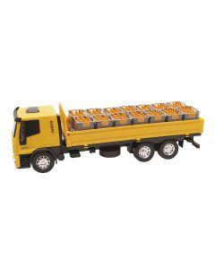 Caminhão Iveco Tector 341 Usual Brinquedos - Amarelo