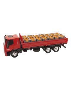 Caminhão Iveco Tector 341 Usual Brinquedos - Vermelho