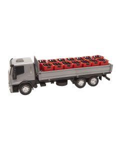 Caminhão Iveco Tector 341 Usual Brinquedos - Cinza