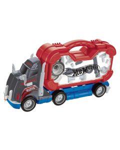 Caminhão Monta e Desmonta HotWheels Fun - 7504-9 - Vermelho